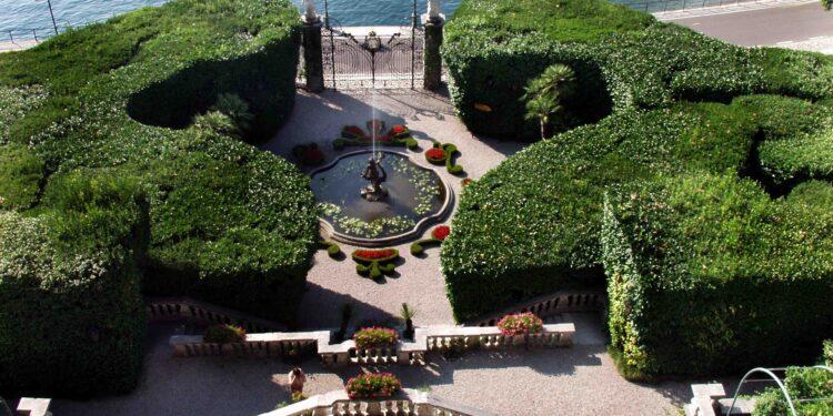 villa carlotta vista sull'orto botanico