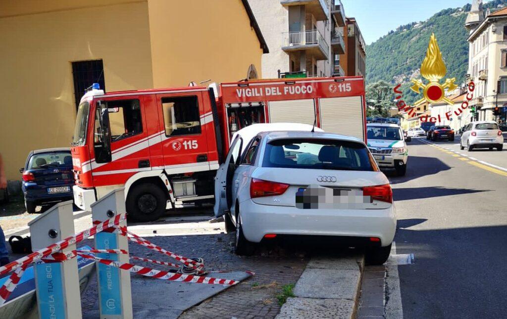 incidente via milano