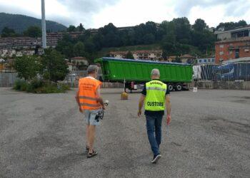 camion con scarti ferrosi radioattivi respinto alla dogana di brogeda