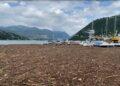 detriti lago