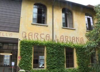 facciata del museo della barca lariana