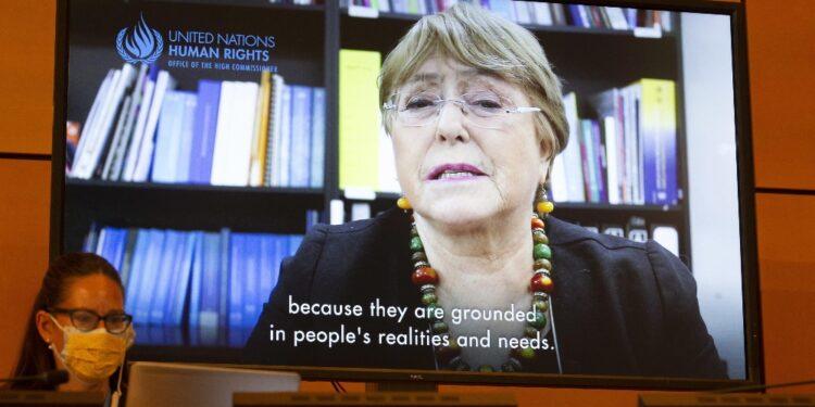 Appello Commissaria ai Diritti Umani Bachelet ai Talebani