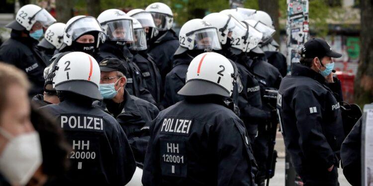 Commando speciale polizia sul posto