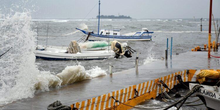Danni in Veracruz e forti piogge