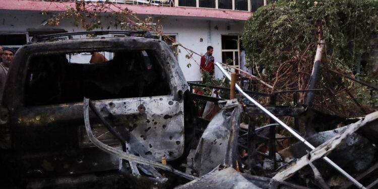 All'aeroporto di Kabul distrutta 'minaccia imminente'