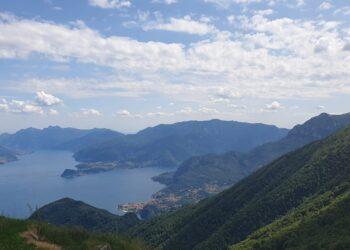 lago di como vista dal pian di spagna