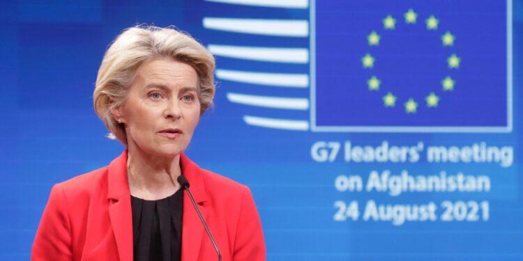 Dice su Twitter la presidente della Commissione Ue von der Leyen