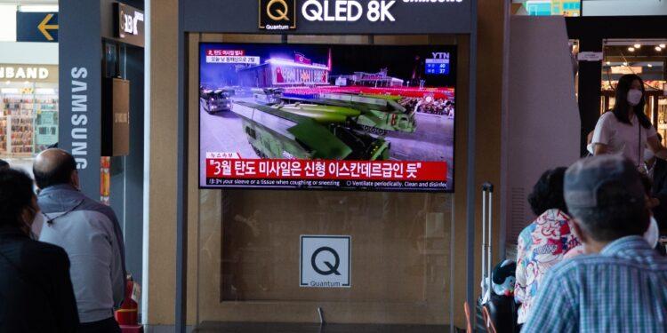 A poche ore dai due vettori balistici provati da Pyongyang