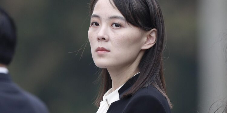 Kim Yo-jong a presidente Seul