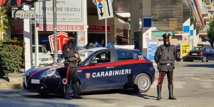 A Fagnano Castello. Omicida bloccato dai carabinieri