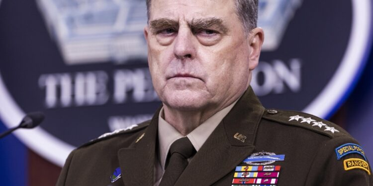 Capo di stato maggiore esercito Usa a Fox