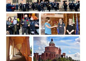 La marcia a Bologna verso San Luca 'contro il precariato'