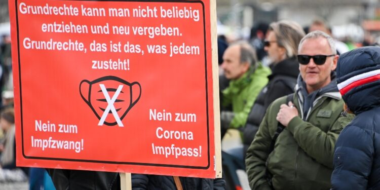 'Preoccupa radicalizzazione nucleo negazionisti Querdenker'