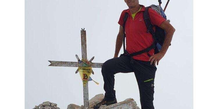 Ieri sul versante francese della cima di quasi 3mila metri