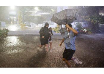 Oltre 80 mm d'acqua su Central Park in soli 60 minuti