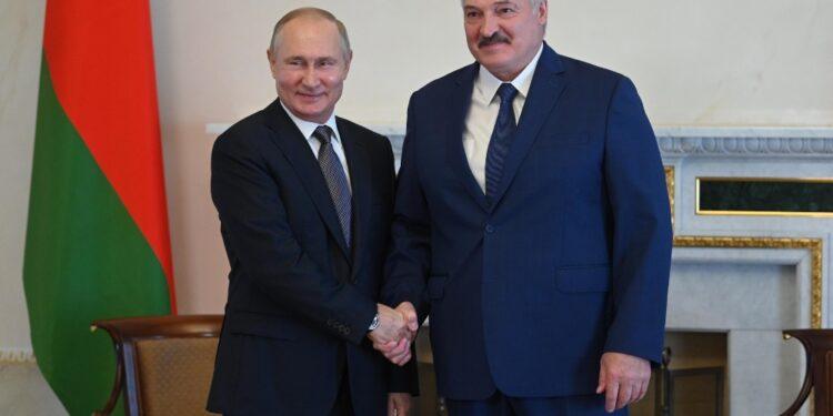 Ieri l'incontro tra Putin e Lukashenko
