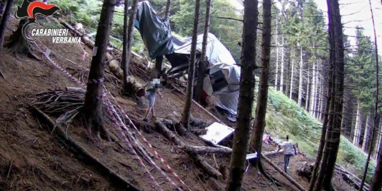 Area sequestrata per l'inchiesta sulla tragedia della funivia