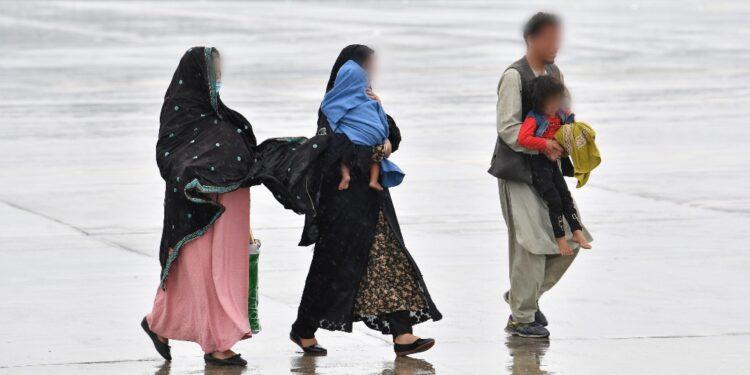 Arrivati da Kabul con la famiglia