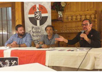 La solidarietà della formazione indipendentista valdostana