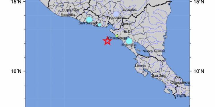 Terremoto a 78 km dalla costa occidentale