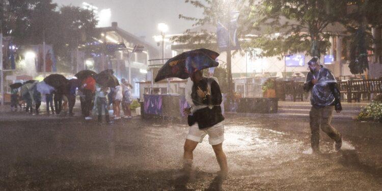 Violentissime piogge e inondazioni in città