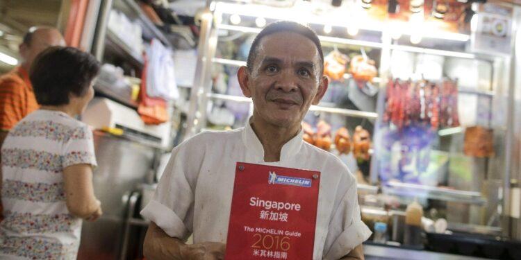 Bancarella a Singapore