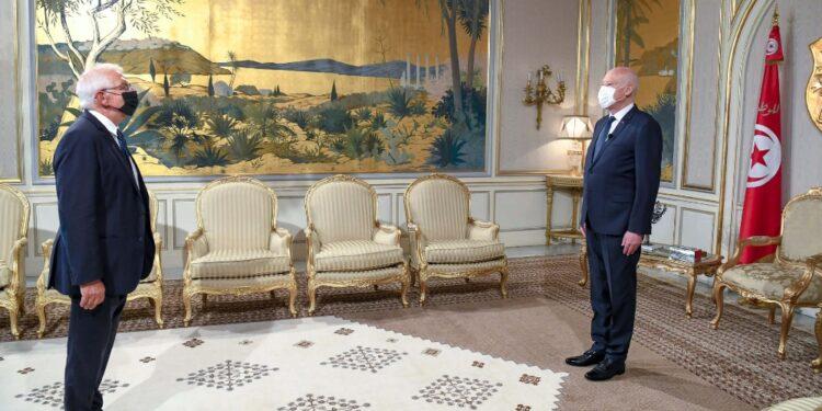 L'Alto rappresentante Ue ricevuto al Palazzo di Cartagine