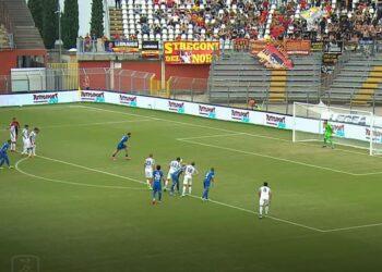 Calcio Como Benevento rigore