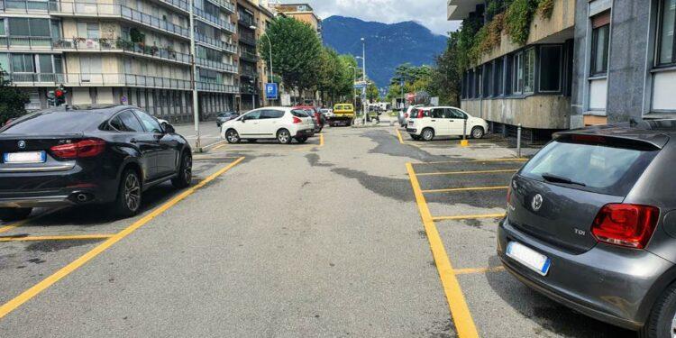 Parcheggi Como