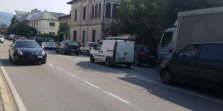 Traffico via Pasquale Paoli