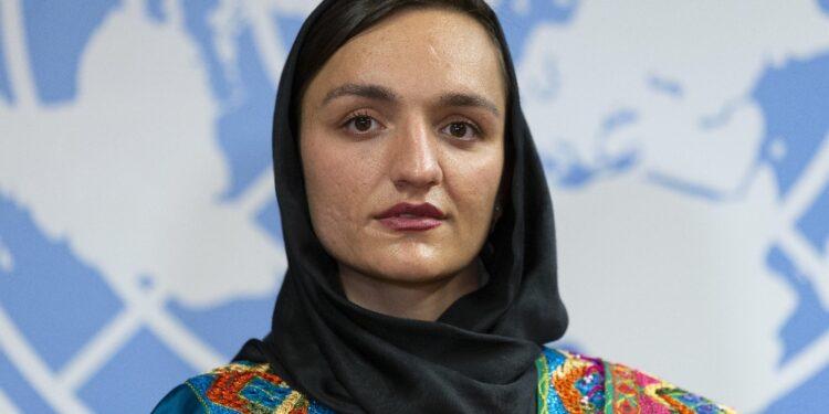 Attivista fuggita da Kabul