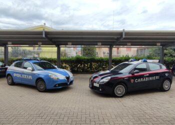 Operazione carabinieri e polizia