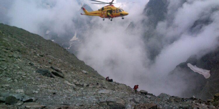Individuato 400 mt a valle della cresta che percorreva