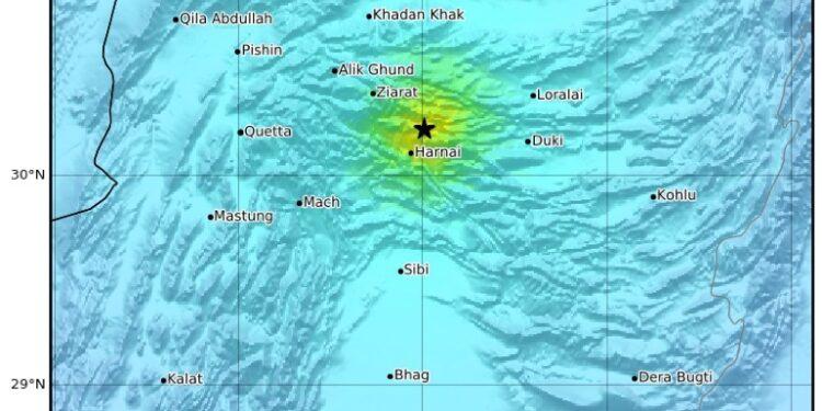 La zona più devastata dal sisma è quella del distretto di Harnai