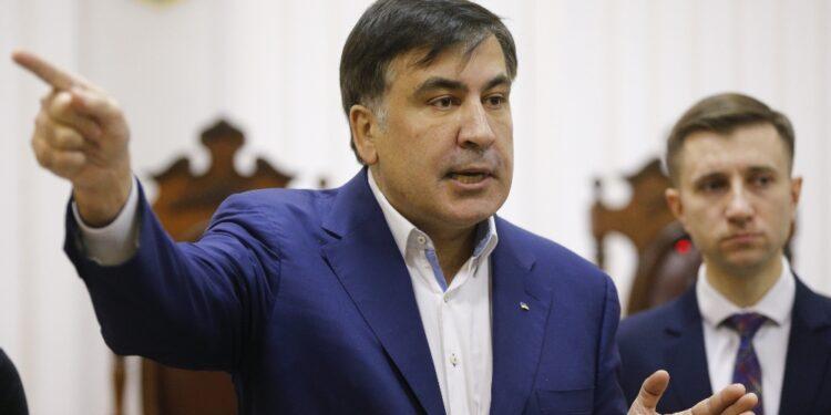 Ex presidente georgiano parla dopo arresto al ritorno in patria