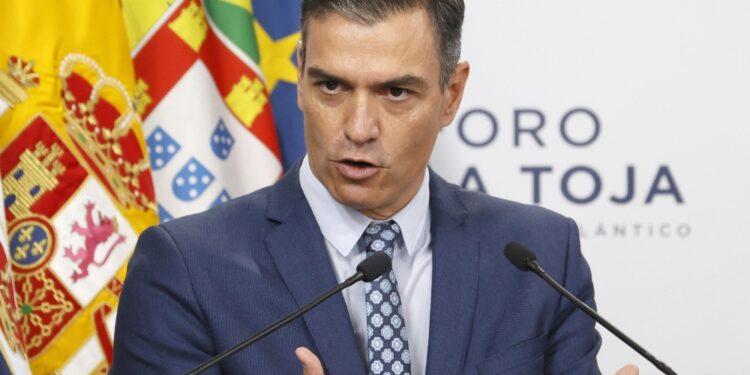 L'annuncio di Sánchez