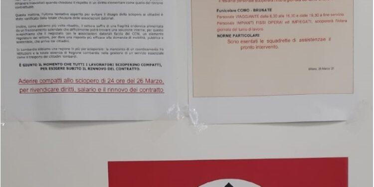 Al deposito Atm di San Donato