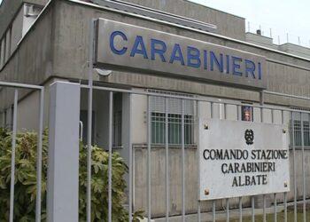 caserma dei carabinieri di Albate