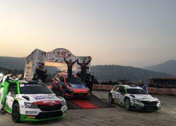 rossetti vince il rally di Como 2021